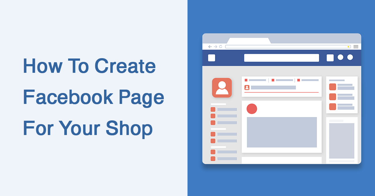 How To Create Facebook Page For Your Shop - SocialFAQs