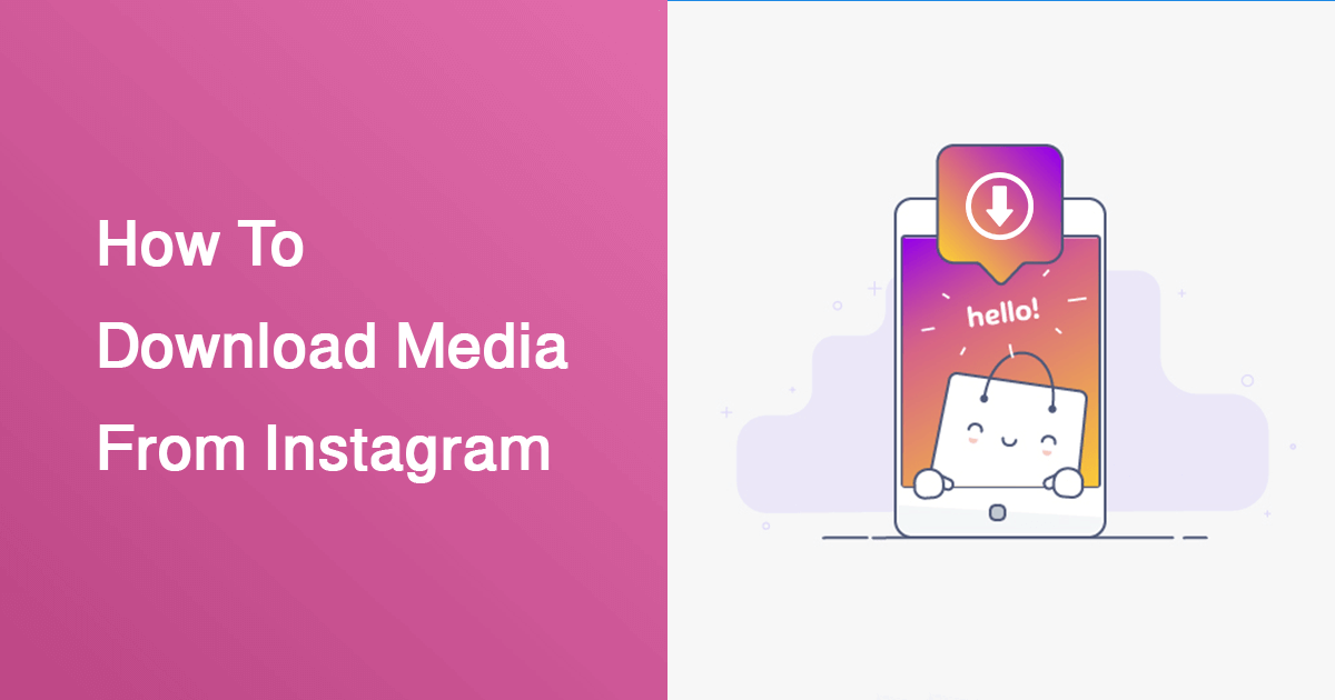 How To Download Photos & Videos & Status From Instagram On