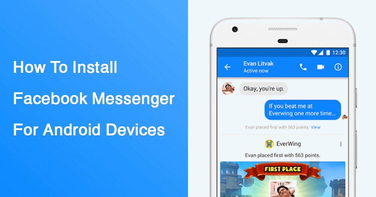 download facebook messenger for android free