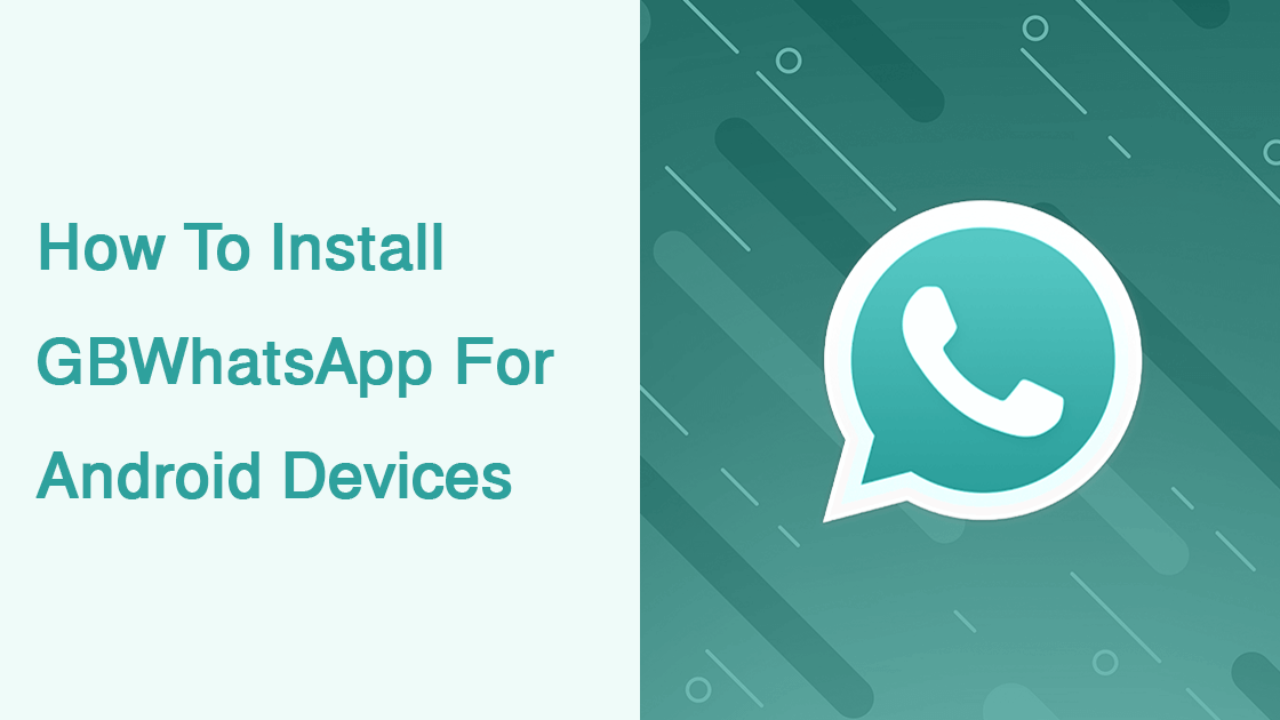 Download & Install GBWhatsApp